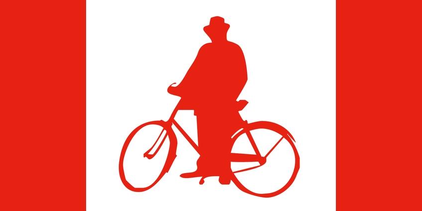 Alfredo Panzini nel logo della Casa Rossa di Bellaria Igea Marina