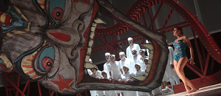 La mano felice - Il castello del Principe di Barbablù - Foto Franco Lannino © Teatro Massimo di Palermo