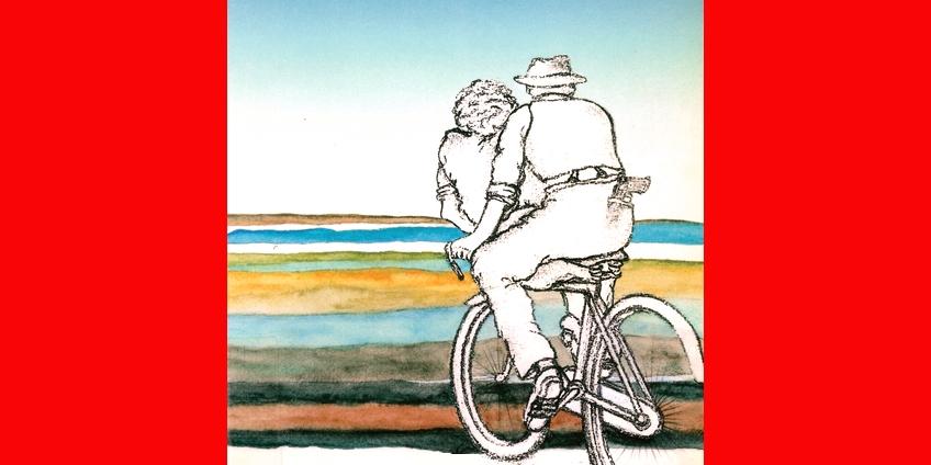 illustrazione di Sergio Vezzali per la copertina del volume