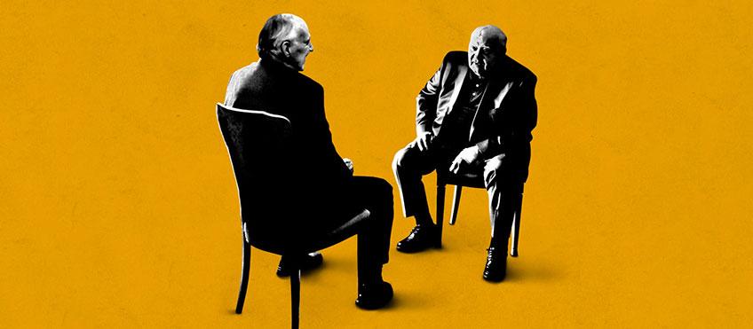 Herzog incontra Gorbaciov