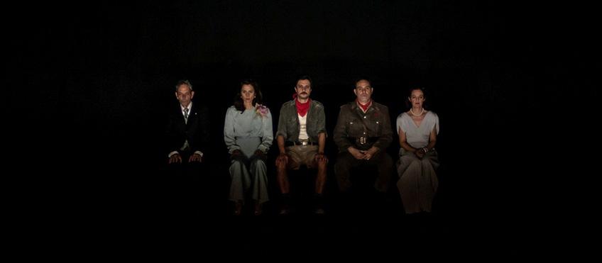 Una scena dello spettacolo Antigone - Foto Duccio Burberi