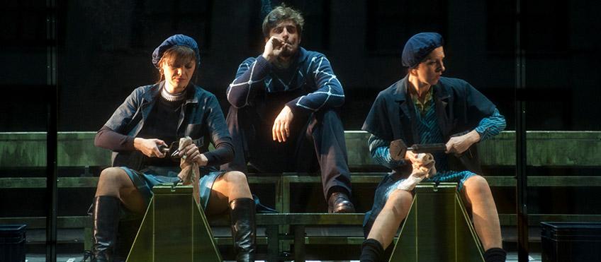 La classe operaia va in paradiso - Allegro -Guanciale e Manea - photo Giuseppe Distefano