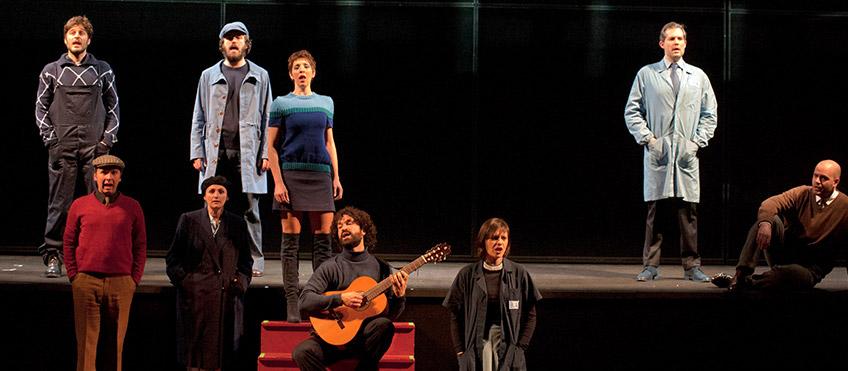 La classe operaia va in paradiso - attori - photo Giuseppe Distefano