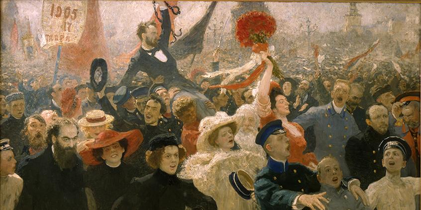Repin, 17 ottobre 1905