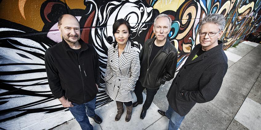 Kronos Quartet (Ph.@Jay Blakesberg)