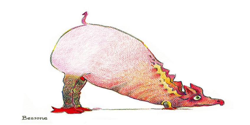 Animali estinti - illustrazione di Altan