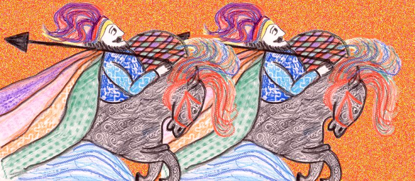 Orlando Furioso - illustrazione di Beatrice Orsini
