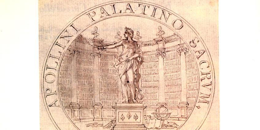 Stemma della Biblioteca Palatina di Parma