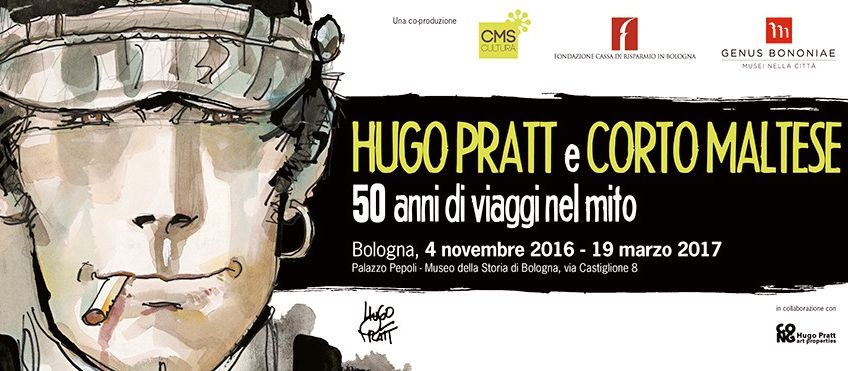 """""""Hugo Pratt e Corto Maltese. Cinquant'anni di viaggi nel mito"""" - © Cong SA, Svizzera - Tutti i diritti riservati"""