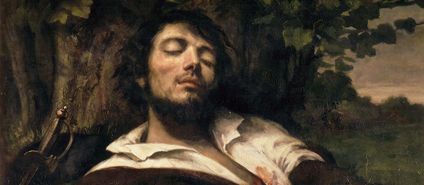 L'uomo ferito, 1844-54 Olio su tela, cm 81,5 x 97,5 Parigi, Musée d'Orsay