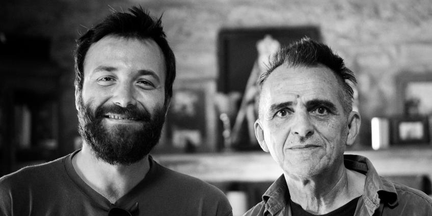 Tiziano Bianchi e Giovanni Lindo Ferretti