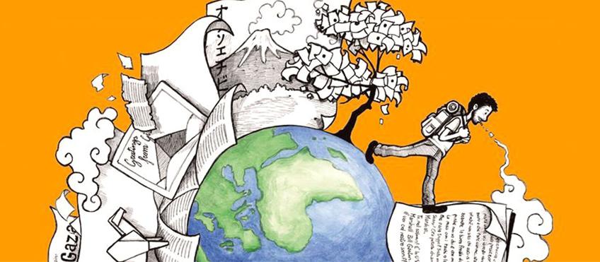 illustrazione di Vingenzo Beccia per il progetto