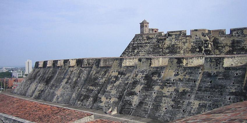 Castello di San Felipe de Barajas a Cartagena de Indias