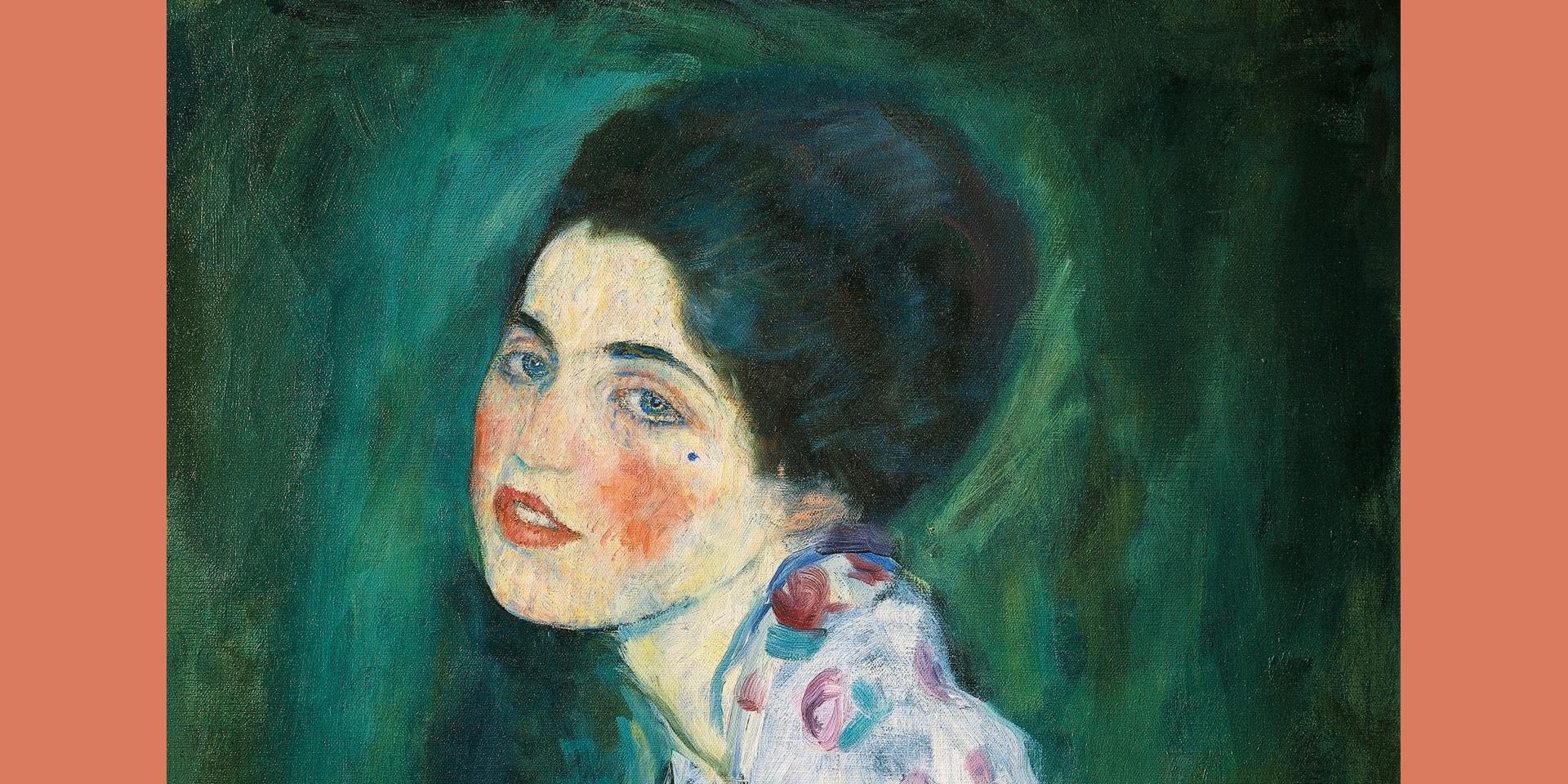 G. Klimt, Ritratto di signora