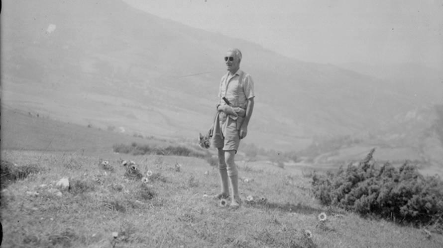 Monte Canda; Fantini Alla Raccolta Delle Carline Dettaglio