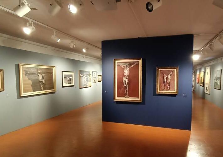Una mostra a Bagnacavallo racconta Giulio Ruffini tra il 1950 e il 1967