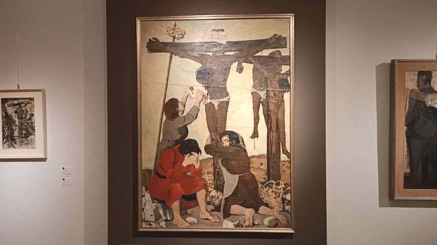 Giulio Ruffini Crocifissione
