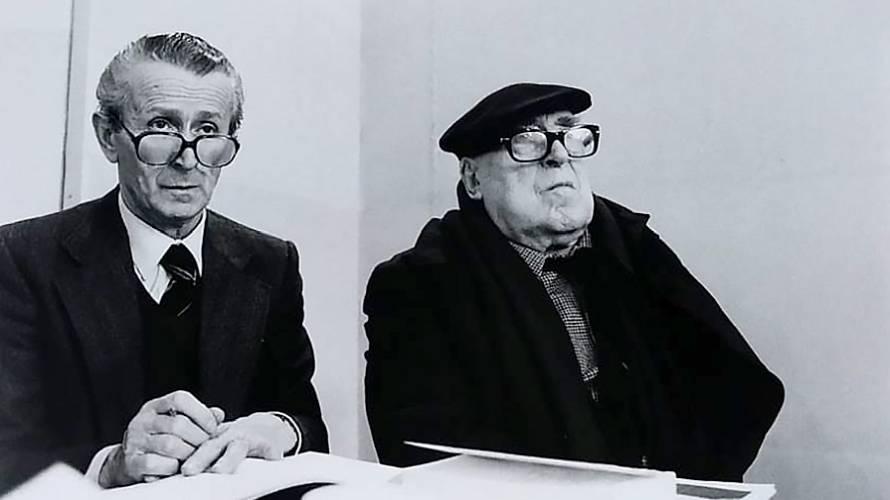 Massimo Soprani E Cesare Zavattini Photo Credit@Angelo Cozzi