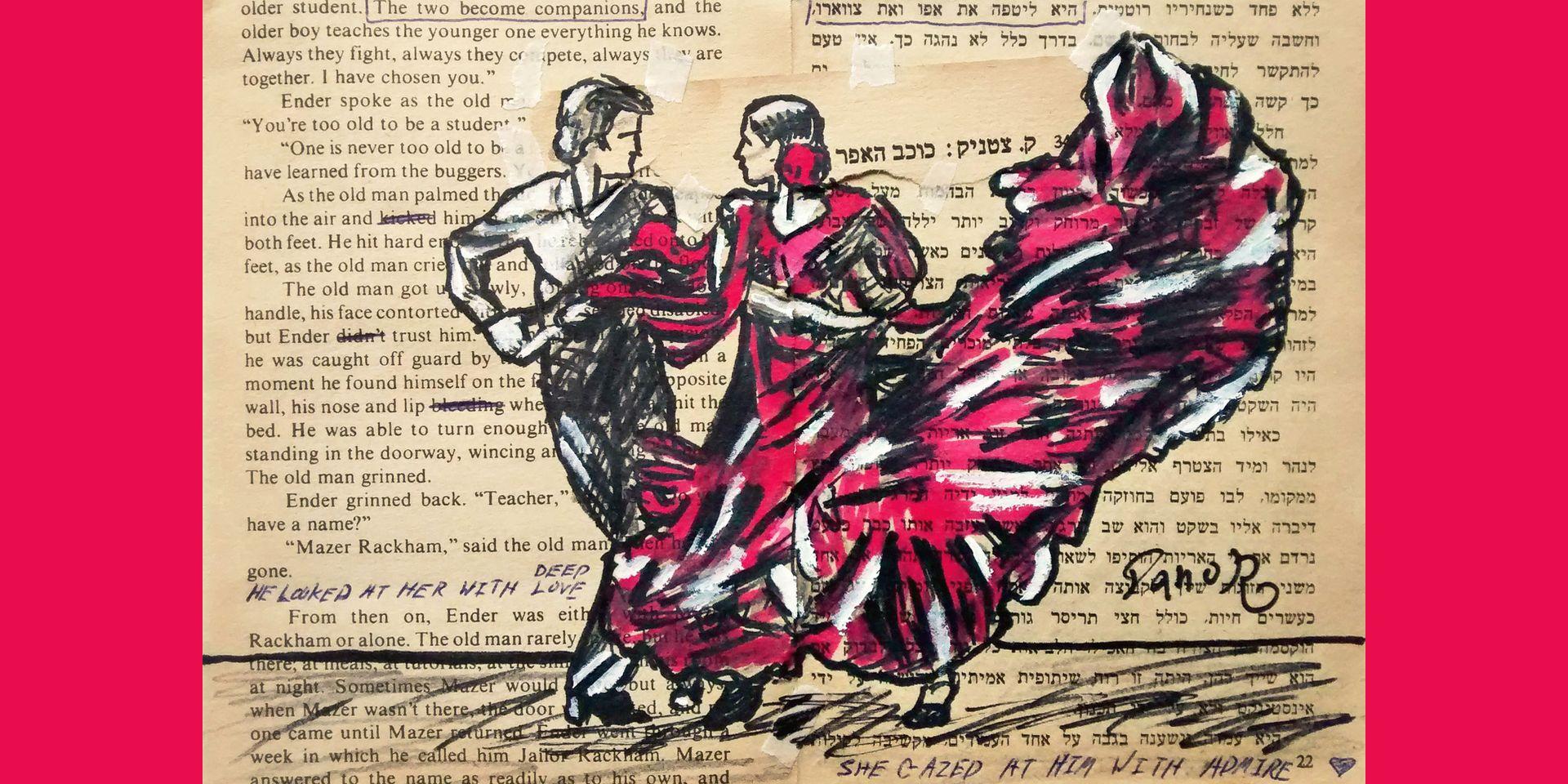 Flamenco Dances Pink - Danor Shtruzman (CC0)