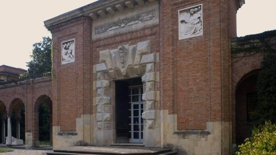 Entrata della Galleria Ricci Oddi di Piacenza