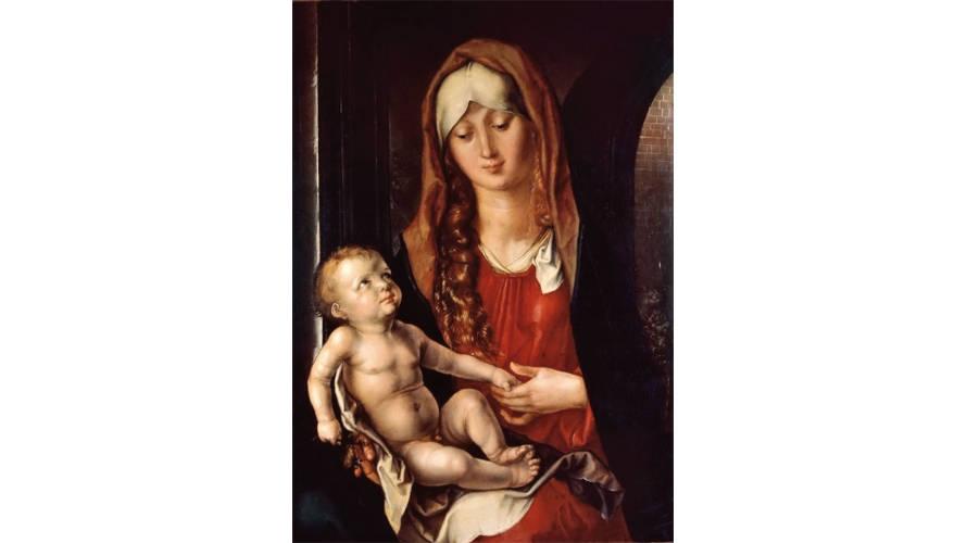 Albrecht Dürer. Madonna Col Bambino