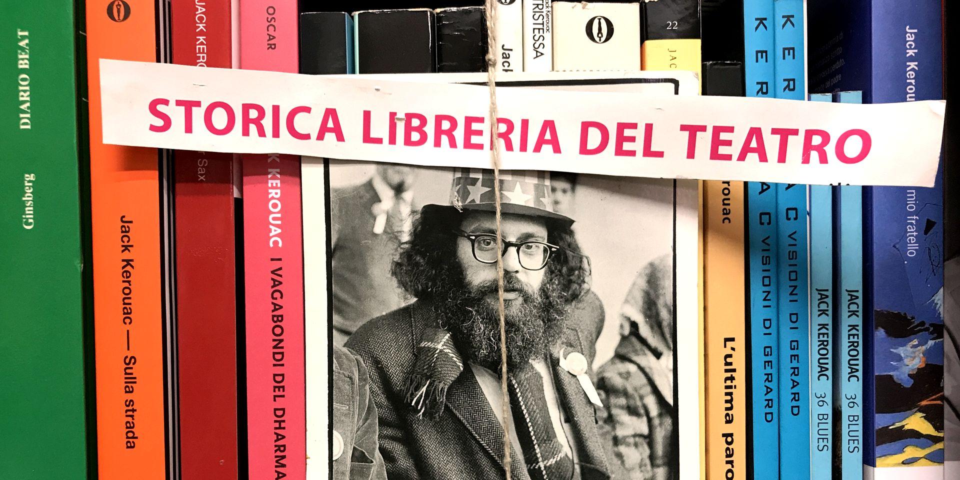 Nella Libreria del Teatro di Reggio Emilia - foto di Pierluigi Tedeschi