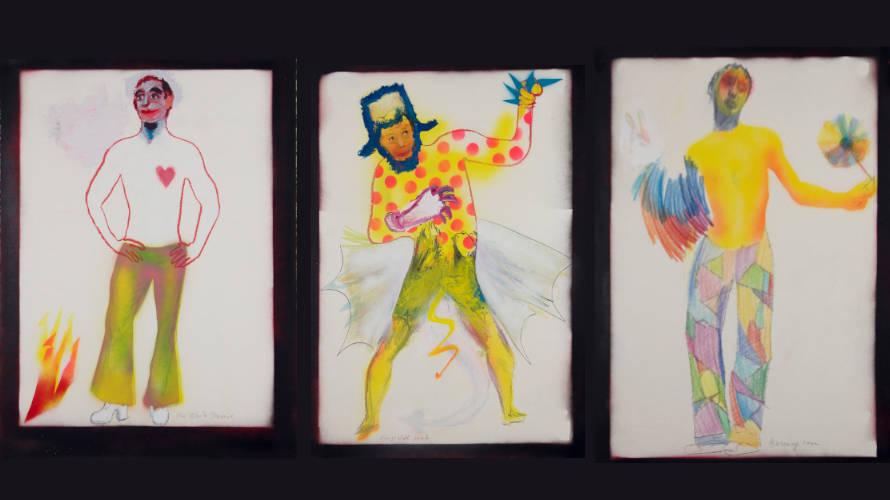 The white Phoenix, Kingswell Devil,  Burning Man