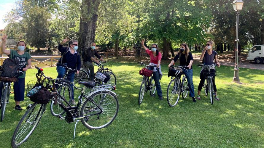 Passeggiando sulla ciclovia lungo il Navile