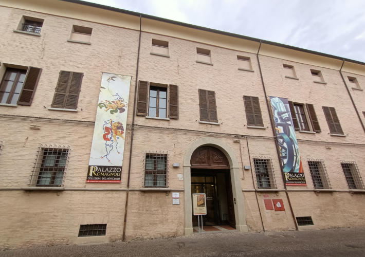 Palazzo Romagnoli a Forlì