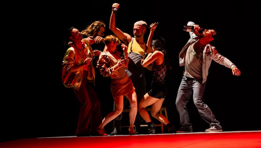 Balletto Civile In Figli Di Un Dio Ubriaco Di Michela Lucenti Foto Di Donato Aquaro (10)