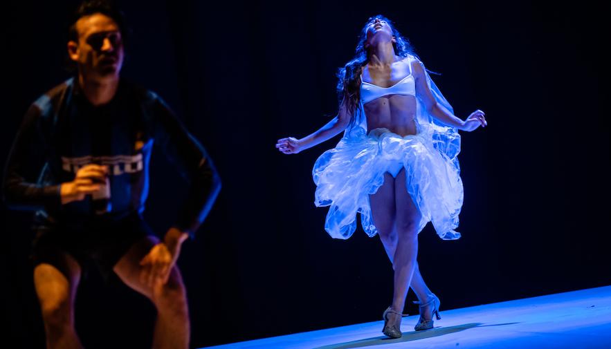 Balletto Civile In Figli Di Un Dio Ubriaco Di Michela Lucenti Foto Di Donato Aquaro (8)